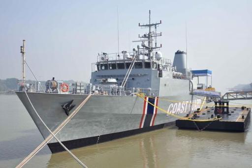 Mauritius Coast Guard ship BARRACUDA, featured in Africa PORTS & SHIPS
