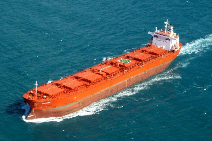Bakkedal, one of Torvald Klaveness bulker vessels, featured in Africa PORTS & SHIPS