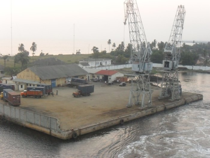 Ports such as Banana in the DR Congo ought to be expanded, suggests AfDB, from a report in Africa PORTS & SHIPS