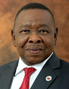 Transport Minister Dr Blade Nzimande, featured in Africa PORTS & SHIPS