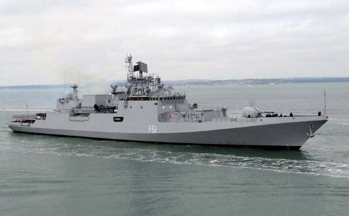 Indian Navy frigate INS Trikand. Picture courtesy: Indian Navy, featured in Africa PORTS & SHIPS