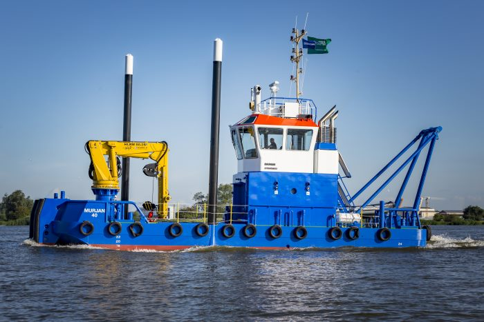Murjan 19m Multicat featured in Africa PORTS & SHIPS