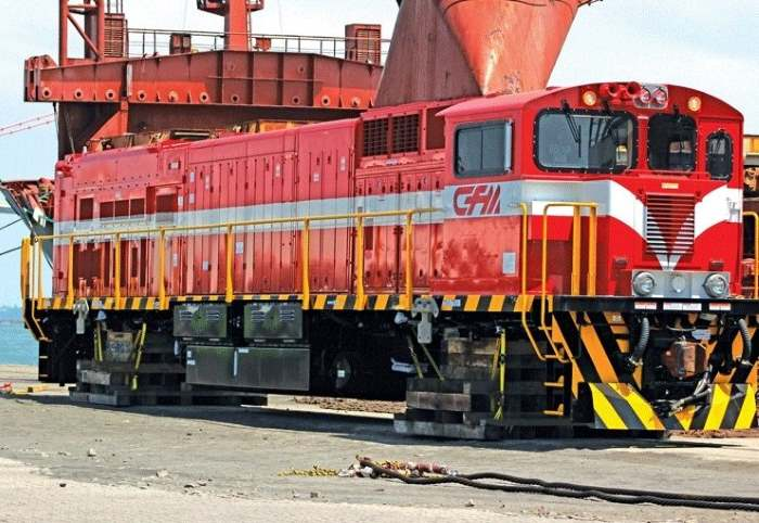 New diesel-electric locomotives for CFM-Sul.  Picture: Domingo, featured in Africa PORTS & SHIPS