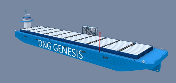 What the energy barge will look like, featured in Africa PORTS & SHIPS