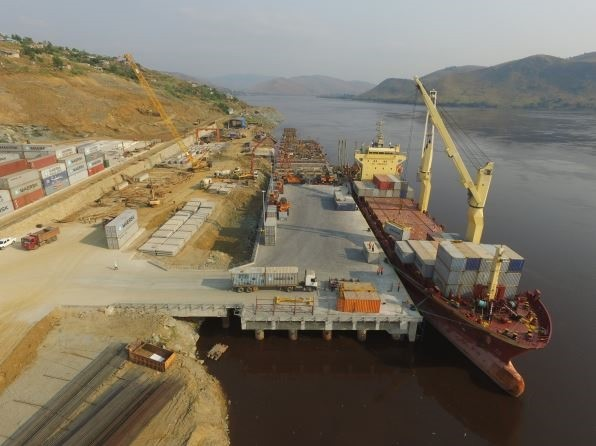 Port of Matadi under reconstruction, featured in Africa PORTS & SHIPS