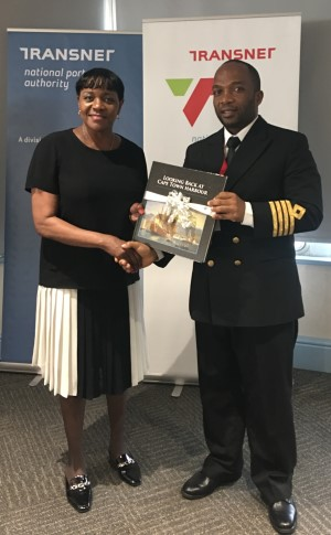 Chairwoman of the Miami-Dade County Commission, Commissioner Audrey M Edmonson, and Cape Town Harbour Master and Acting Port Manager, Captain Alex Miya, featured in Africa PORTS & SHIPS maritime news