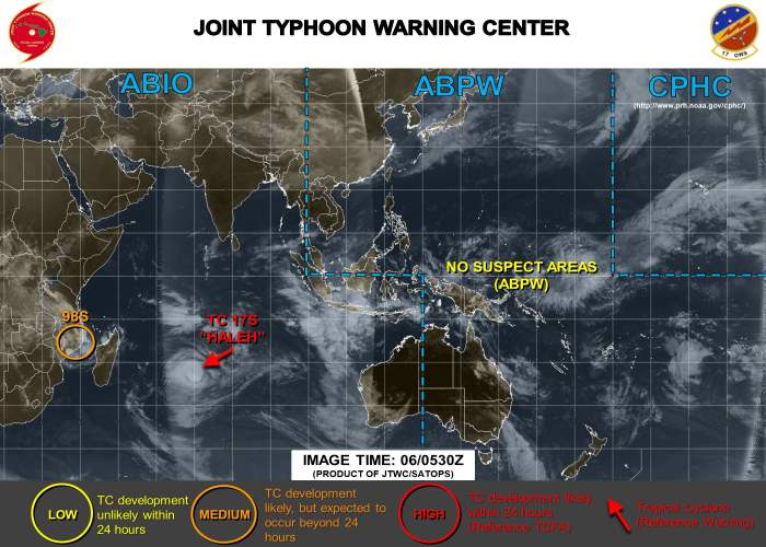 Image: Joint Typhoon Warning Center, featured in Africa PORTS & SHIPS