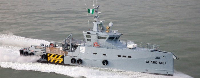 Damen 3307 patrol vessel - another two for Nigeria's Homeland Services, featured in Africa PORTS & SHIPS