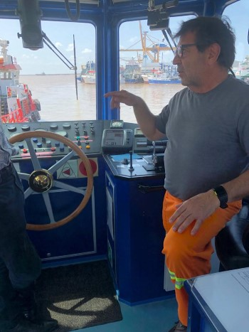 This unnamed experienced captain of a service vessel at Beira describes to one of the chaplains how he has faced many storms and cyclones in Mozambique waters but this one, he said, left him scared, featured in Africa PORTS & SHIPS maritime news