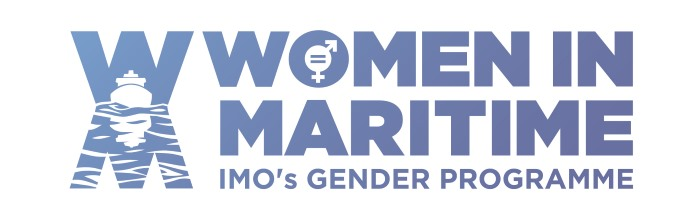 IMO Women in Maritime banner, appearing in Africa PORTS & SHIPS