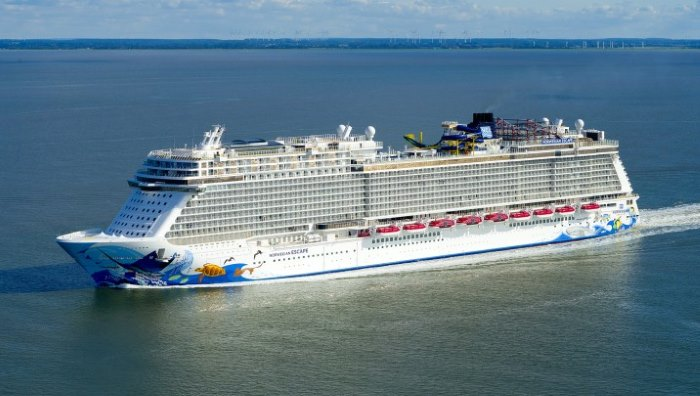 Norwegian Escape, Featured in Africa PORTS & SHIPS