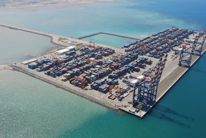 Doraleh container terminal and port, featured in Africa PORTS & SHIPS maritime news