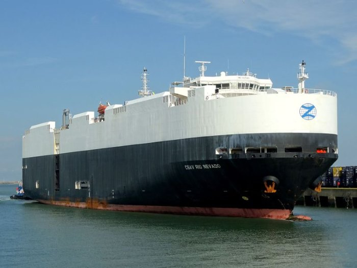 CSAV Rio Nevado. Picture: Baltic Shipping, featured in Africa PORTS & SHIPS maritime news online