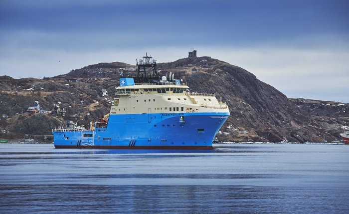 Maersk Supply offshor supply vessel, featured in Africa PORTS & SHIPS maritime news online