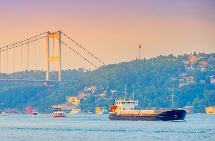Turkish Straits courtesy of ICS, used with press release on conference April 2019, featured in Africa PORTS & SHIPS maritime news