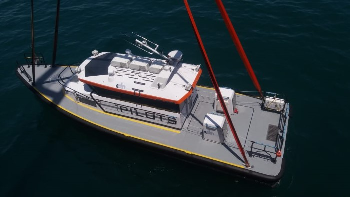 Nacala's new pilot boat, delivered December 2018 and featured in Africa PORTS & SHIPS maritime news online