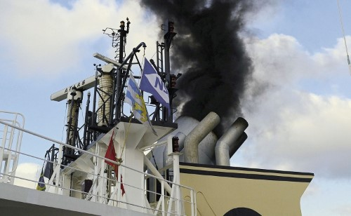 exhaust emissions, featured in Africa PORTS & SHIPS maritime news online