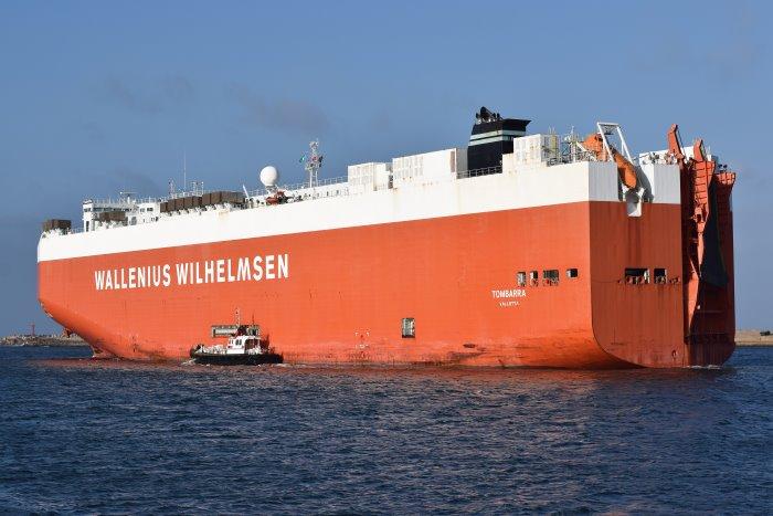 Tombarra. Picture: Trevor Jones, featured in Africa PORTS & SHIPS maritime news online