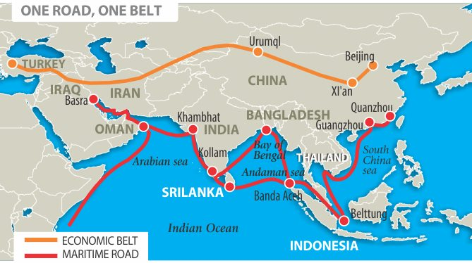 China's Silk Road includes Africa ports, featured in Africa PORTS & SHIPS maritime news