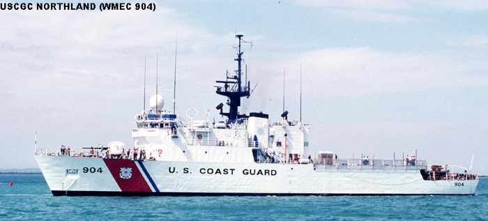 USCG cutter Northland. Picture: Wikipedia and featured in Africa PORTS & SHIPS maritime news