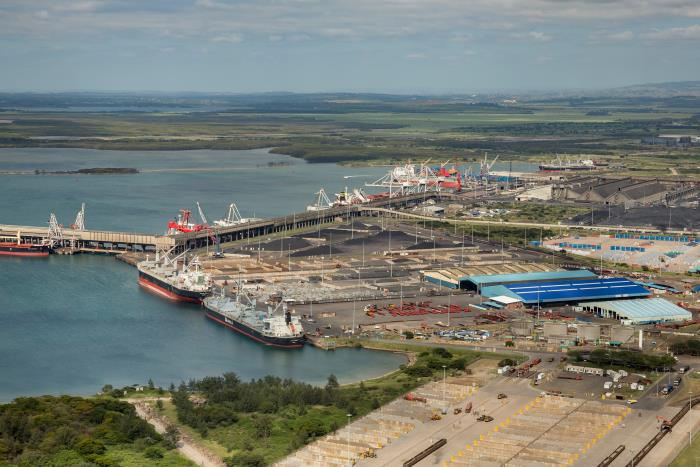 Port of Richards Bay multi purpose and dry bulk terminals, as featured in Africa PORTS & SHIPS maritime news online
