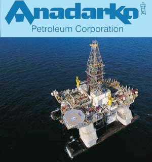 Anadarko Petroleum, from a report carried by Africa PORTS & SHIPS maritime news online