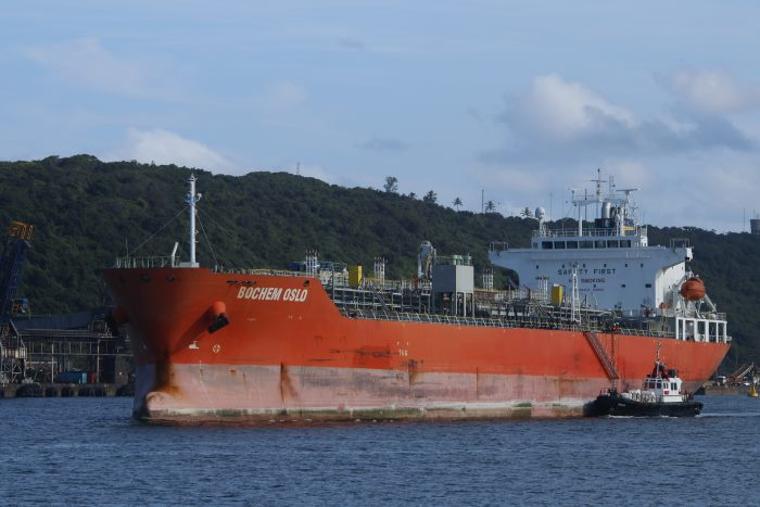 Bochem Oslo. Picture: Keith Betts, featured in Africa PORTS & SHIPS maritime news online