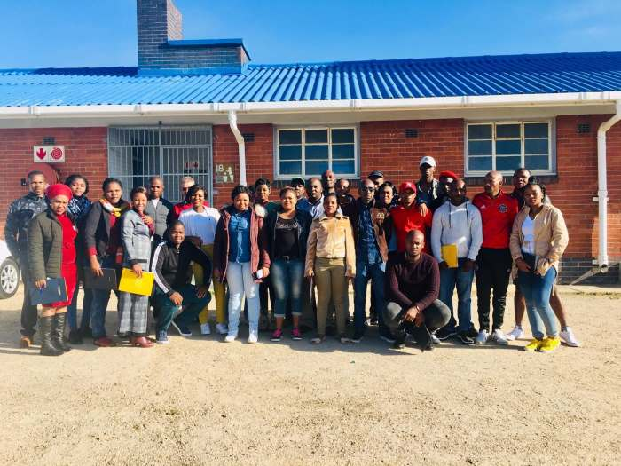 The Port of Mossel Bay recently held a compliance security training session for port personnel, seen above, featured in Africa PORTS & SHIPS maritime news online