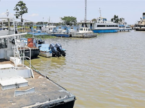 Boats at Kisumu on Lake Victoria, as featured in Africa PORTS & SHIPS maritime news online
