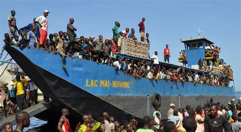 a Lake Mai-Ndombe ferry, as reported in Africa PORTS & SHIPS maritime news online
