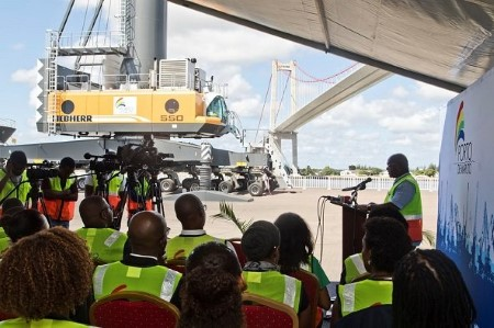 Two new mobile harbour cranes that arrived recently have already joined Maputo Port Development Company's (MPDC) operational fleet - report in Africa PORTS & SHIPS maritime news online