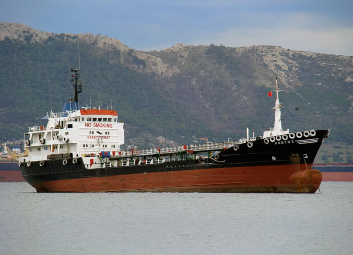 Tanker currently named Apecus and subject to a recent attack by pirates, featured in Africa PORTS & SHIPS maritime news online