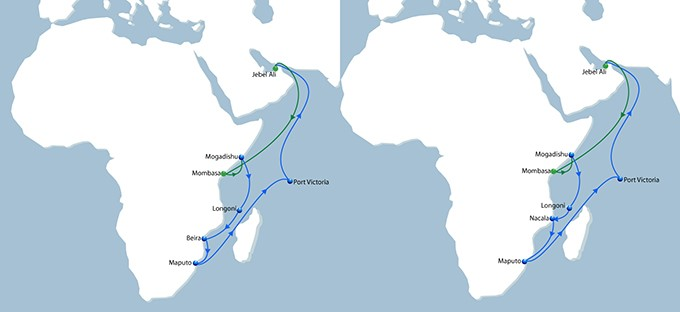 NOURA seasonal upgrade map, featured in Africa PORTS & SHIPS maritime news online