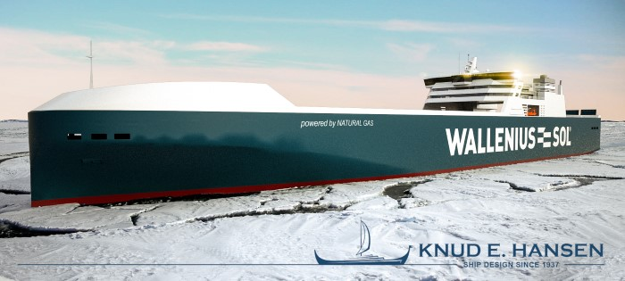 New LNG-powered RoRo vessels for Wallenius-SOL designed by KNUD E. HANSEN,featured in Africa PORTS & SHIPS maritime news online