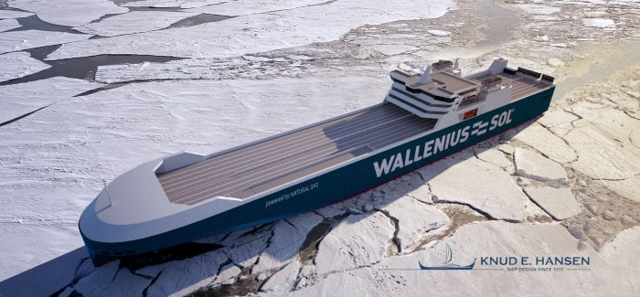 New LNG-powered RoRo vessels for Wallenius-SOL designed by KNUD E. HANSEN and featured in Africa PORTS & SHIPS maritime news online