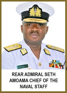 Rear Admiral Seth Amoama, featured in Africa PORTS & SHIPS maritime news online