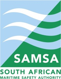 SAMSA logo, featured in Africa PORTS & SHIPS maritime news online