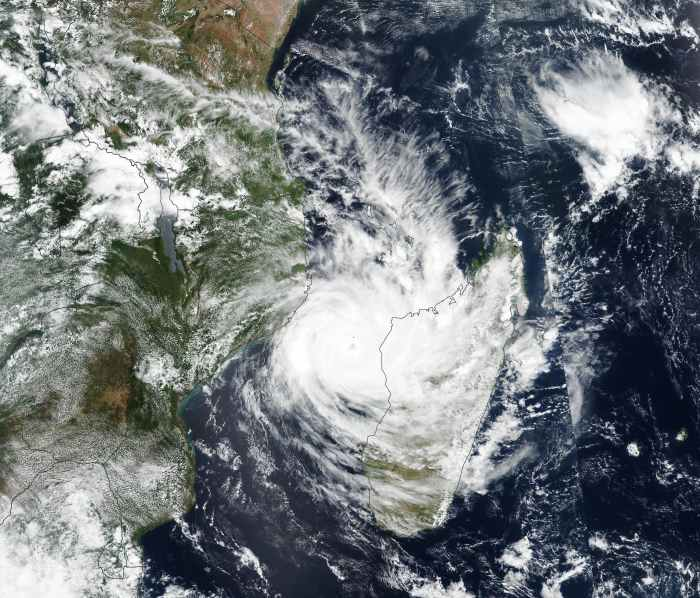 Tropical cyclone Idai. NASA Earth Observatory ©, featured in Africa PORTS & SHIPS maritime news online