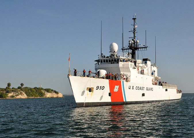 US Coast Guard Cutter Thetis Photo: USCG ©, featured in Africa PORTS & SHIPS maritime news online