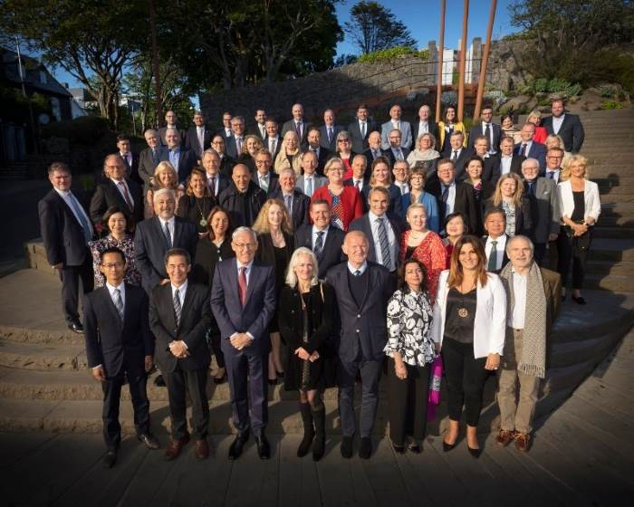ICS Member representatives at the 2019 AGM. Photo ICS ©, featured in Africa PORTS & SHIPS maritime news