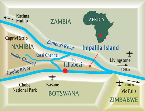 Impalila Island, Namibia, featured in Africa PORTS & SHIPS maritime news
