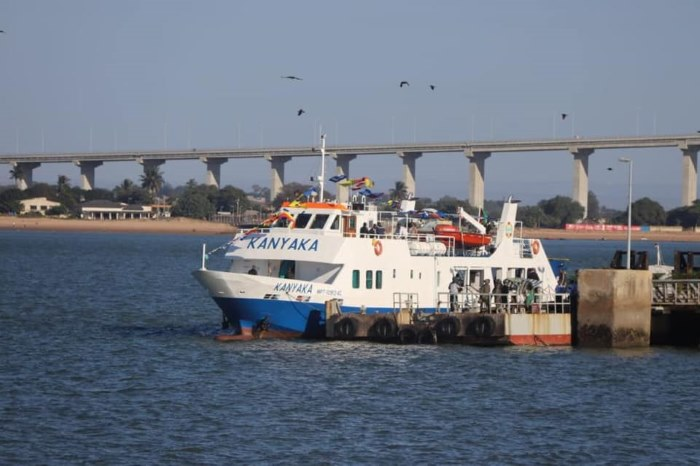 New Maputo-Inhaca ferry Kanyaka. Picture: Radion Mocambique, featured in report in Africa PORTS & SHIPS maritime news online