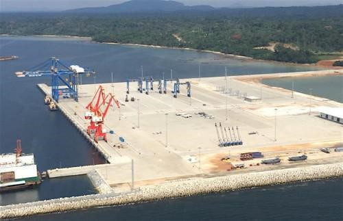Kribi port MPT when under early development, Featured in Africa PORTS & SHIPS maritime news