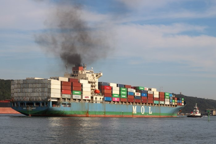 MOL Endowment. Pictures: Keith Betts, featurig in Africa PORTS & SHIPS maritime news