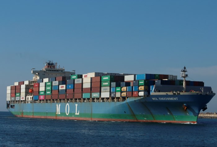 MOL Endowment. Pictures: Keith Betts, featuring in Africa PORTS & SHIPS maritime news