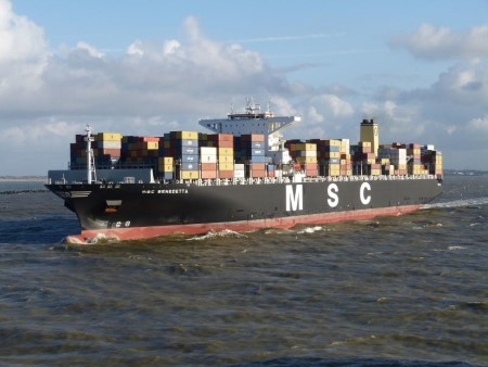 MSC Benedetta. Picture courtesy: Shipspotting, featured in Africa PORTS & SHIPS maritime news