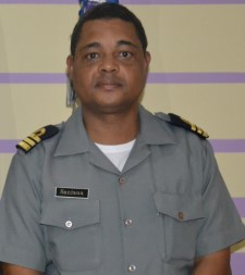 Captain Pedro Querido Santana, Cape Verde Coast Guard, featuring in Africa PORTS & SHIPS maritime news