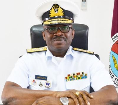Rear Admiral Seth Amoama Ghanaian Navy