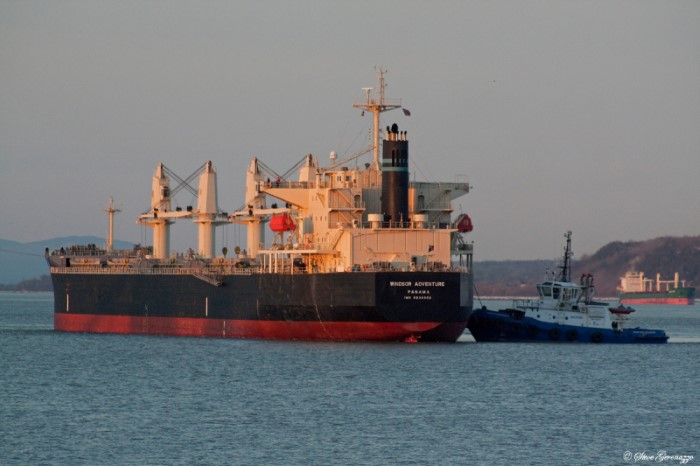 Windsor Adventure, picture courtesy: Shipspotting - Steve Geronazzo, featuring in Africa PORTS & SHIPS maritime news