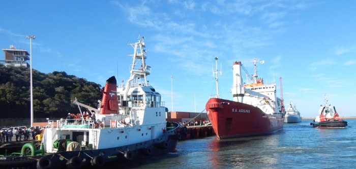 Picture: SAMSA, featured in Africa PORTS & SHIPS maritime news